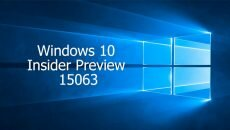 Windows 10 Insider Preview 15063